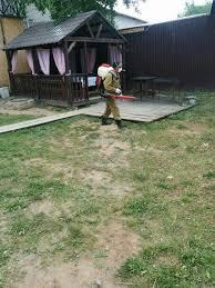Сегодня территория нашего клуба была ВТОРОЙ РАЗ обработана от клещей и грызунов!